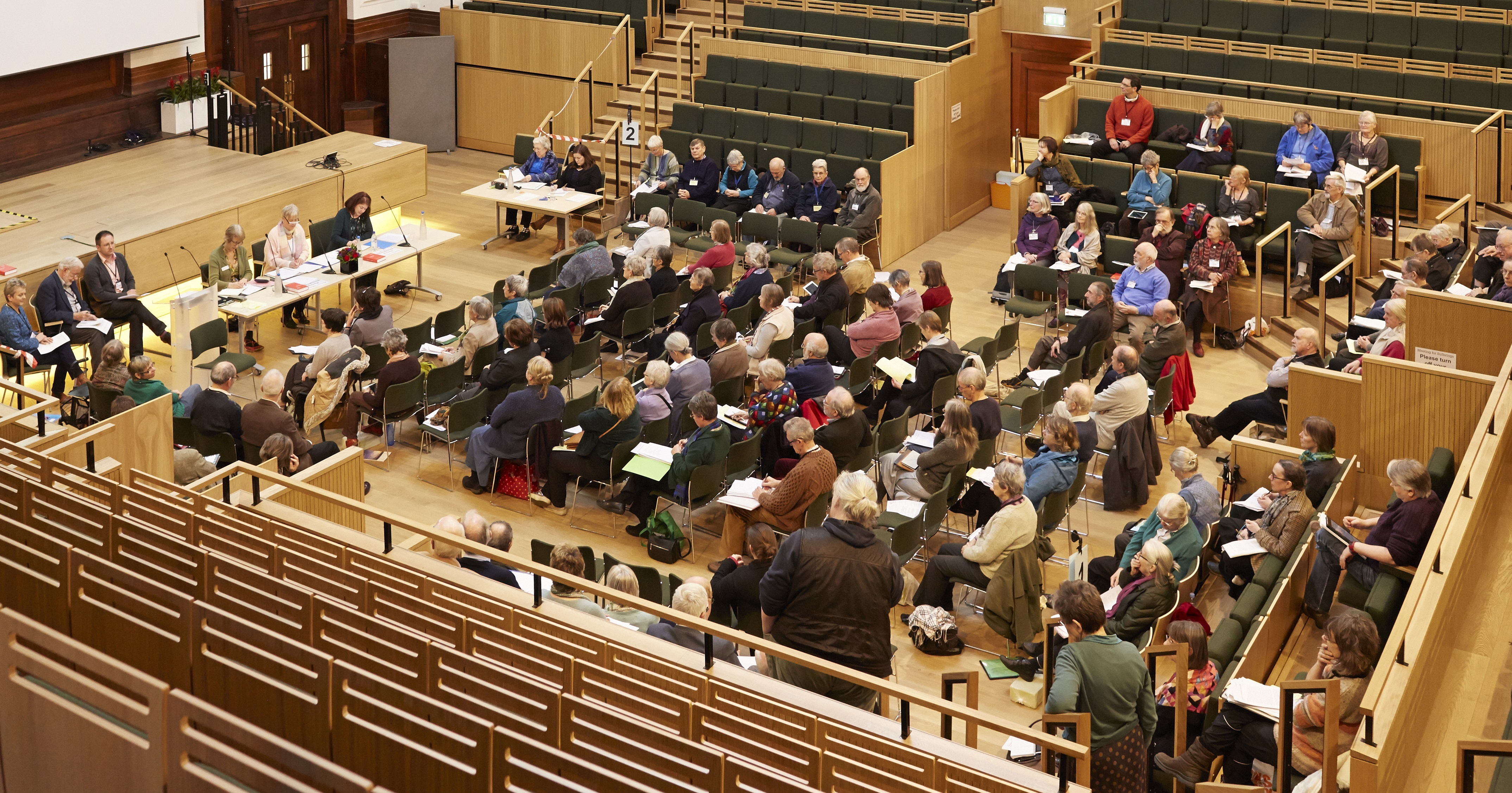 Quakers gathered for Meeting for Sufferings