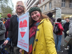 Emily on the People's March for Climate, Justice & Jobs