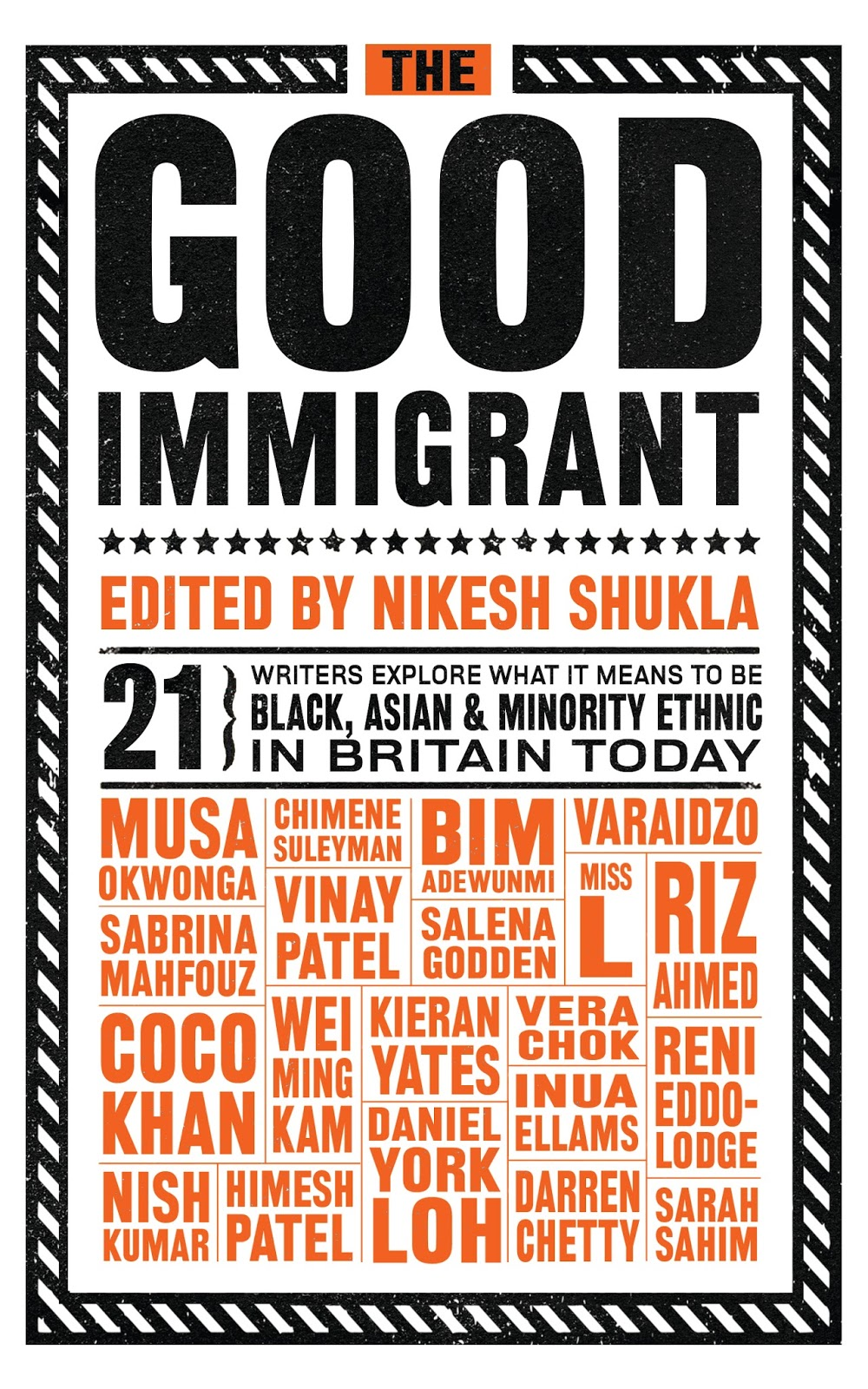 Cover of book 'The Good Immigrant'