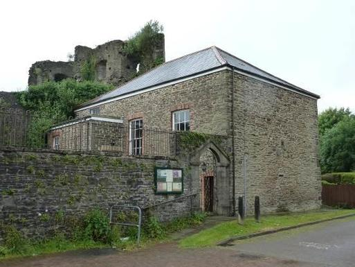 Situated beside Neath Castle remains with spacious garden.