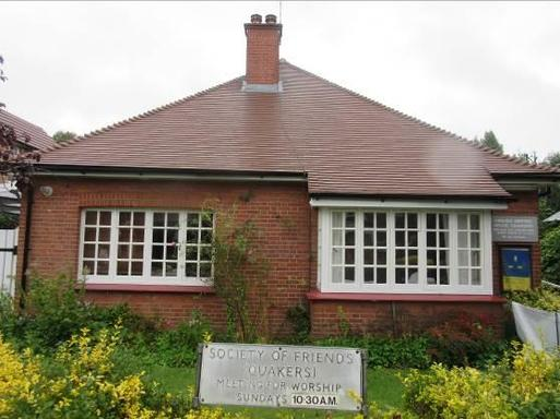 Bungalow adapted for Quakers with an attractive interwar design.