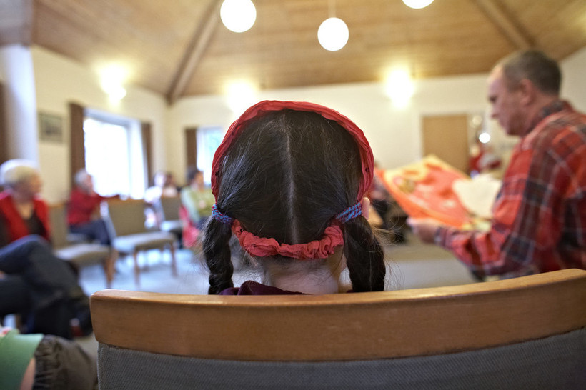 All-age meeting for worship. Photo: Mike Pinches for Quakers in Britain