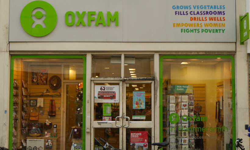 Oxfam has gone from a single charity shop in 1948 to being a high-street name. Image: Edward Hands, CC BY-SA 4.0