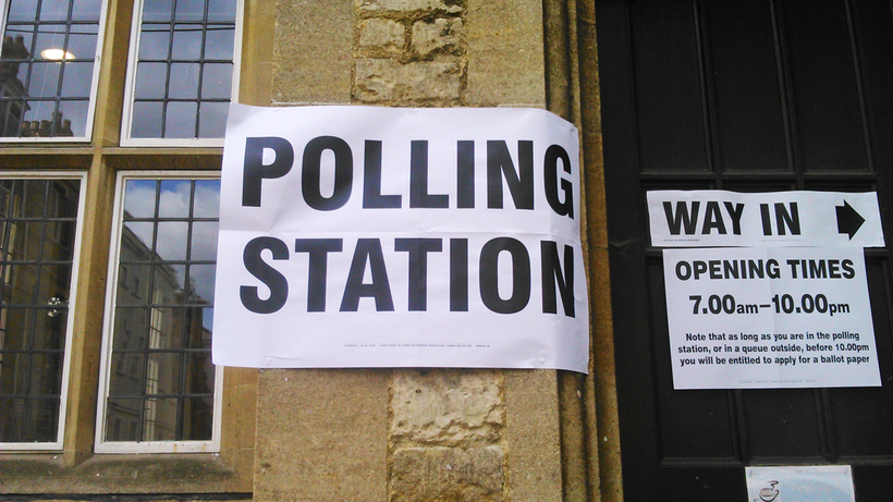 Polling station. Image: Emma Anthony