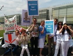 Stand with Quakers in France to stop the biggest arms fair of 2018