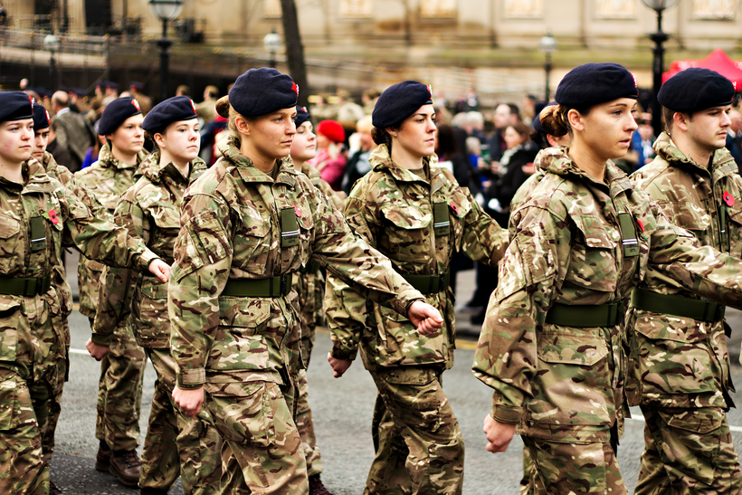 Are visits from the armed forces to schools offering a realistic portrayal of life in the military? Photo: kenny1 / Shutterstock.com