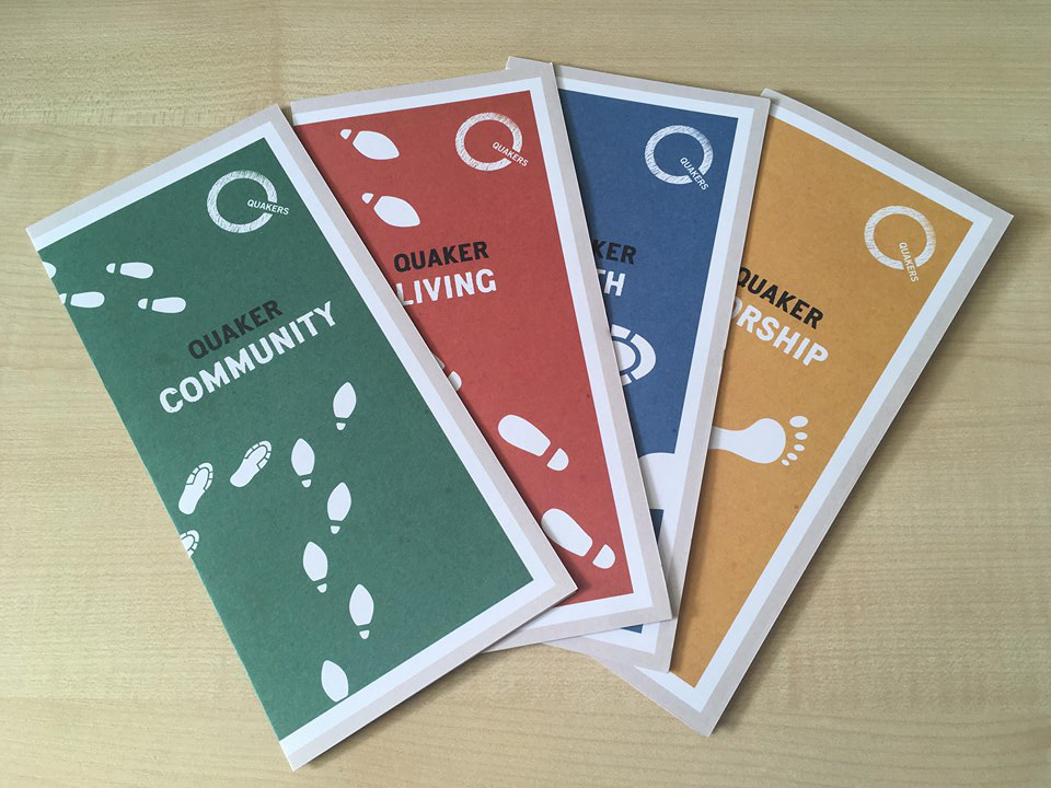 4 new leaflets: Community, Living, Worship and Faith