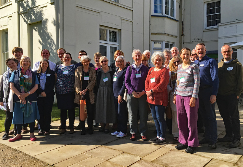 Trustees of Woodbrooke Quaker Study Centre and Britain Yearly Meeting meet to discuss new ways of supporting Quaker meetings. Photo: Quakers in Britain