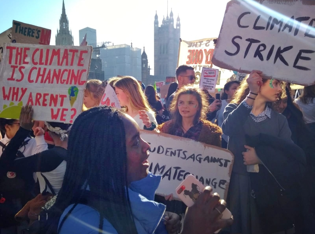 youth climate strikers