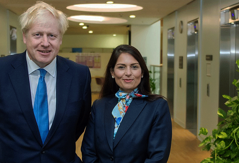 Can fear of punishment make society more peaceful? UK Home Secretary Priti Patel believes so. Photo: wikimedia commons
