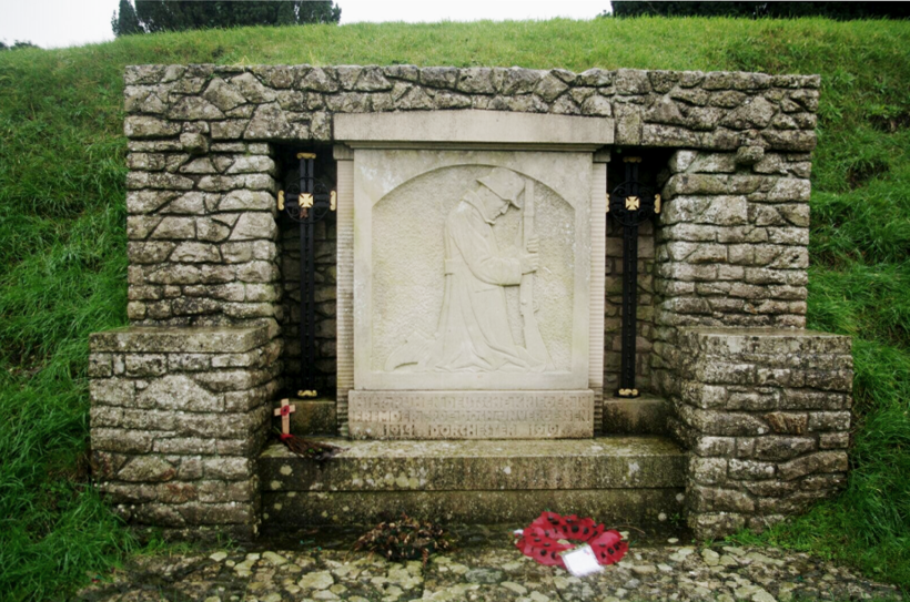 The memorial to German prisoners of war in Dorchester's Fordington Cemetery. Photo: Mark Newton