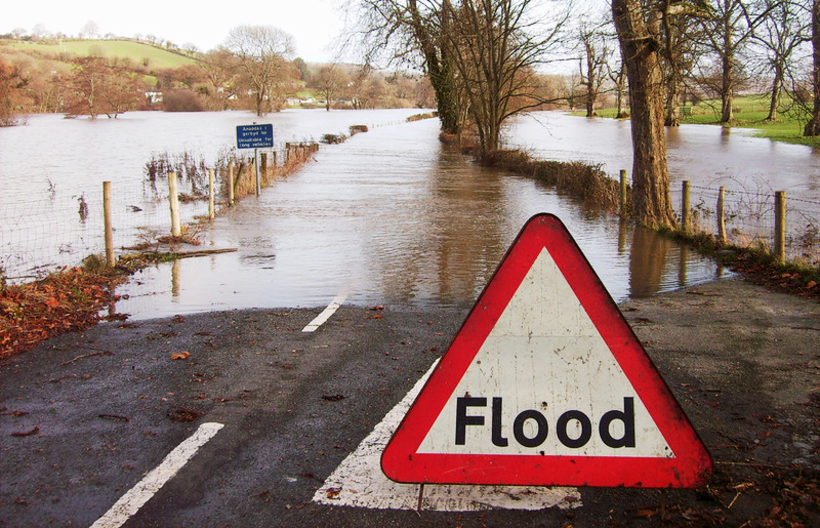 Flooding in the UK. Photo: Flickr/www.MorienJones.com