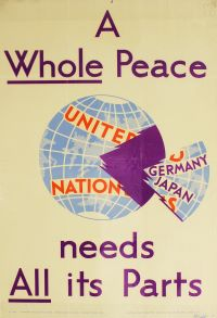 Northern Friends Peace Board poster: A Whole Peace Needs All Its Parts
