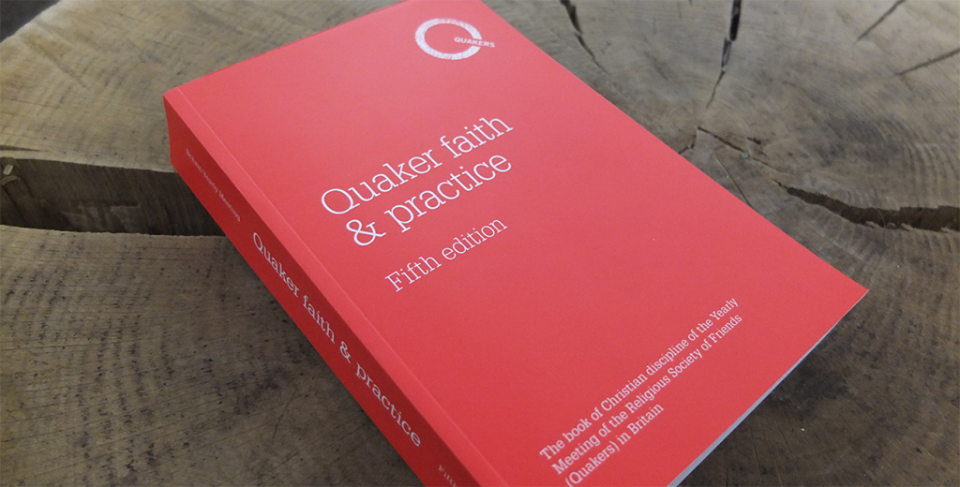 The red book of Quaker faith and practice
