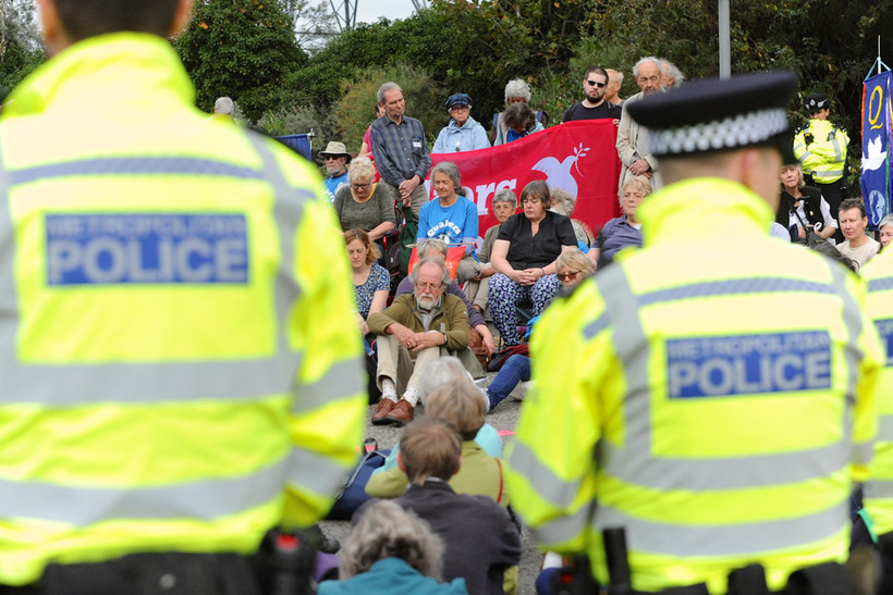 Protest is an important part of a democratic society. Image: Michael Preston for Quakers in Britain